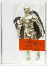 Star Wars 1983 Kenner Bagged Euro-K C-3PO Rem. Limbs Meccano Sticker AFA 85