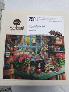 "Wentworth Puzzle mit 250 Teilen  - komplett   ""Grandpa´s Potting Shed"""