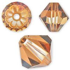Genuine Swarovski Crystal Bicone Crystal Copper Color. 3mm. Approx.144 PCS. 5328