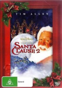 The Santa Clause 2   DVD Region 4 PAL   Free Post in Aus   Brand New Sealed
