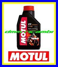 1 Litro Olio Miscela 2T MOTUL 710 ROAD OFFROAD 100% Sintetico miscelatore premix