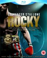 Rocky All 6 films Undisputed Collection Blu-ray 7 Disc Sylvester Stallone Tracki