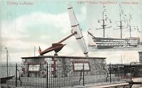 POSTCARD   HAMPSHIRE     PORTSMOUTH     Victory's  Anchor