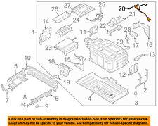 FORD OEM 13-18 Fusion 2.0L-L4 Battery-Wire FM5Z10B694H