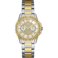 Authentic GUESS Ladies' Sassy Watch Two Tone W0705L4