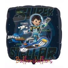 "Miles From Tomorrowland 18"" Square Balloon Party Disney Birthday Uk Anagram"
