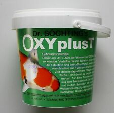 Dr. Söchting OXYplusT 1kg Sauerstofftabletten für Teiche Gartenteich 29,95€/kg