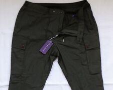 Ralph Lauren Purple Label Green military cargo jogger Pants GR 38