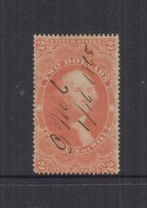 USA 1863  $2 Probate of Will- REVENUE-Scott R83 Cat US$90-VFU