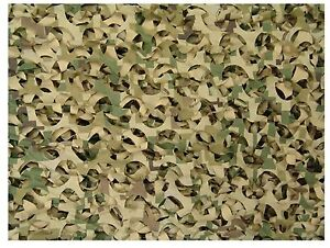 Ultra-Lite Digital Camouflage Killer Camo Net - 10' Hunting Concealment Netting