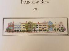 Barbara & Cheryl Cross Stitch Chart #22 Rainbow Row