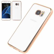 ShockProof Silicone Bumper Clear Phone Case For iPhone X XS Max 6 7 8 Samsung S9