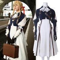 Violet Evergarden Cosplay Costume Anime Cosplay Violet Evergarden Uniform Dress