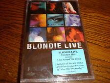 Blondie CASSETTE Blondie Live Greatest Hits