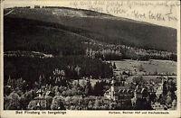 FLINSBERG Świeradów-Zdrój Schlesien 1928 Isergebirge alte Postkarte mit Stempel