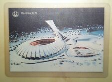 Quebec Montreal 1976 Olympic Stadium Plastic Postcard Cheap Same Price As 1976