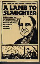 A Lamb to Slaughter. Jan Montyn