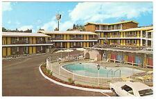 1960's Adv PC PONDEROSA INN MOTEL Redding CA California