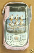 Samsung D500 Pink mobile phone pouch, new