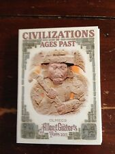 2013 Civilizations Ages Past Olmecs CAP-OL