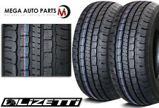 2 X New Lizetti LZ-HST P265/65R17 110T High Quality All Season Truck Tires