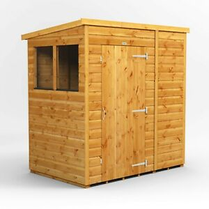 6x4 Power Pent Garden Shed | Power Sheds | T&G | Super Fast 2-3 Day Delivery