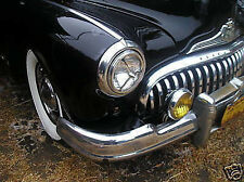 NEW PAIR OF VINTAGE STYLE BULLET HEAD LIGHT COVERS !