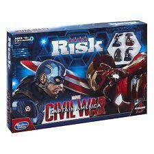 SUPERB Hasbro Marvel Captain America Civil War Risk Board Game Still MIB