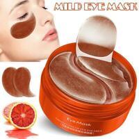 Collagen Eye Mask Under Eye Patch Gel Pad Anti-Wrinkle Dark Circles Bags