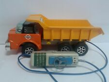Gama Kipper Lastwagen Muldenkipper 1960's battery powered not working W. Germany