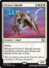 VICTORY'S HERALD Commander 2015 MTG White Creature — Angel Rare