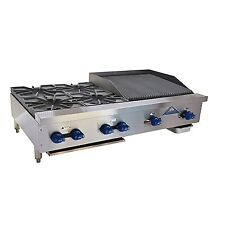 Comstock Castle Fhp48 2rb Countertop Gas Charbroiler Hotplate