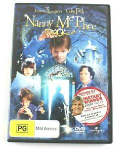 Movie DVD -NANNY McPHEE (DVD, 2006), Region 4