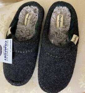 dearfoam slippers Memory Foam medium 7-8 NWT