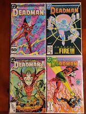 DC Comics Deadman #1-4 Full Series Comic Book Lot
