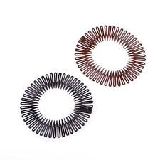 Stretch Plastic Circle Hair Band Full Flexible Comb Headband Clip zfca