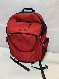Oakley Tactical Field Gear Black Backpack Field Hiking Camping #96548 Pockets