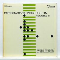 PERSUASIVE PERCUSSION vol.2 - TERRY SNYDER - COMMAND RS 808 SD LP MINT !
