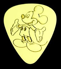 MICKEY- Solid Brass Guitar Pick, Acoustic, Electric, Bass