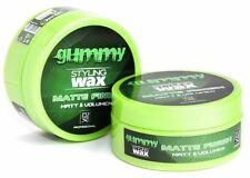 2 X 150 ML  FONEX GUMMY HAIR STYLING WAX MATTE FINISH SOFT WAX