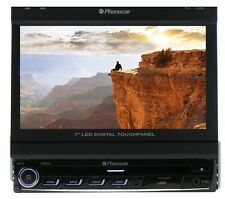 "Phonocar  Media Station Led digital motorized panel 7"" Bluetooth GPS module"