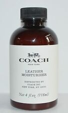 NEW COACH LEATHER MOISTURIZER HANDBAG PURSE 4 OZ SHINE POLISH CONDITIONER