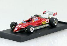 FERRARI 126c2 turbo GP S. MARINO 1982 #27 G. Villeneuve 1:43 Brumm modello di auto r267