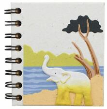 Mr. Ellie Pooh Small Notebook, White