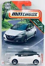Matchbox - '18 Nissan Leaf - Scale 1:64 - White