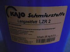 Kajo Langzeitfett LZR 2 zur Wälz-und Gleitlagerschmierung 25 KG NEU
