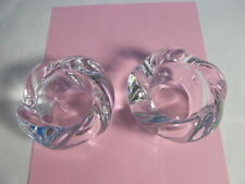 Royal Copenhagen Lotus Tea Light Candle Holders