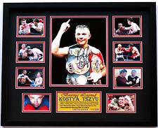 New Kostya Tszyu Signed Limited Edition Memorabilia