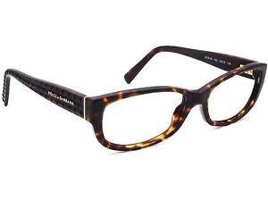 Dolce & Gabbana Women's Eyeglasses DG 3125 502 Tortoise Frame Italy 53[]16 135