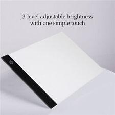 A4 USB LED Stencil Board Light Box Artist Art Tracing Drawing Copy Plate Table